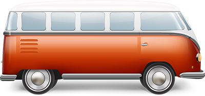 Air-Cooled VW Bus